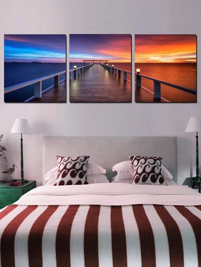 Outfit Seaside Bridge Print Home Decor Wall Art Painting