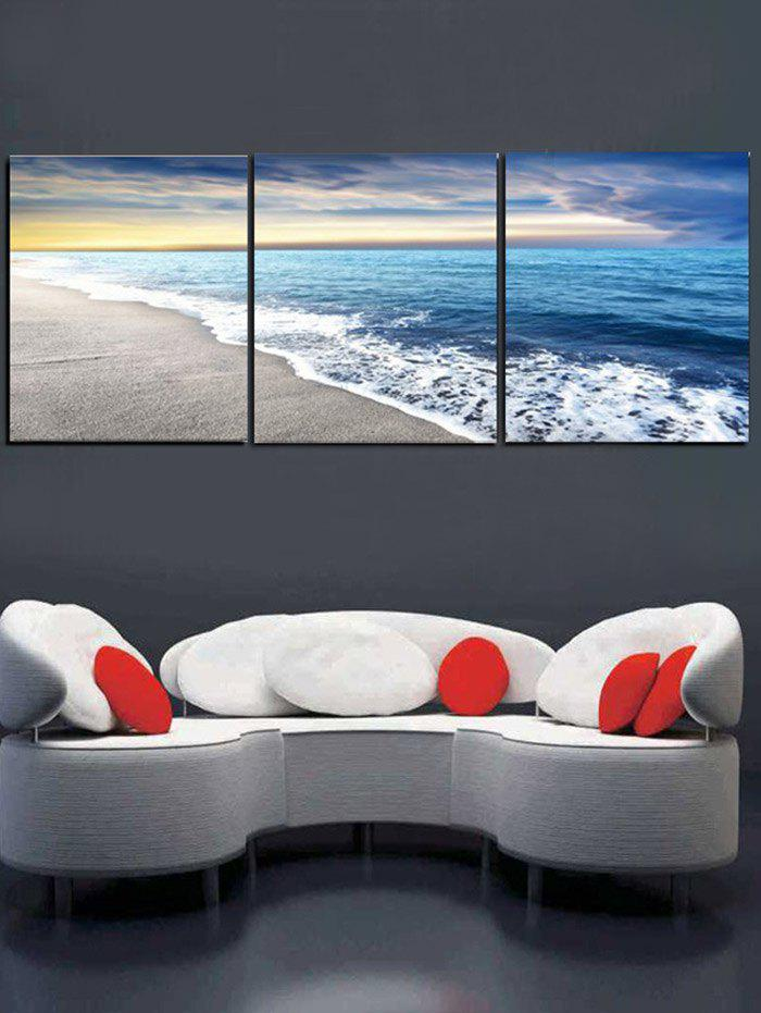 Outfit Seabeach Scenery Print Home Decor Wall Art Painting