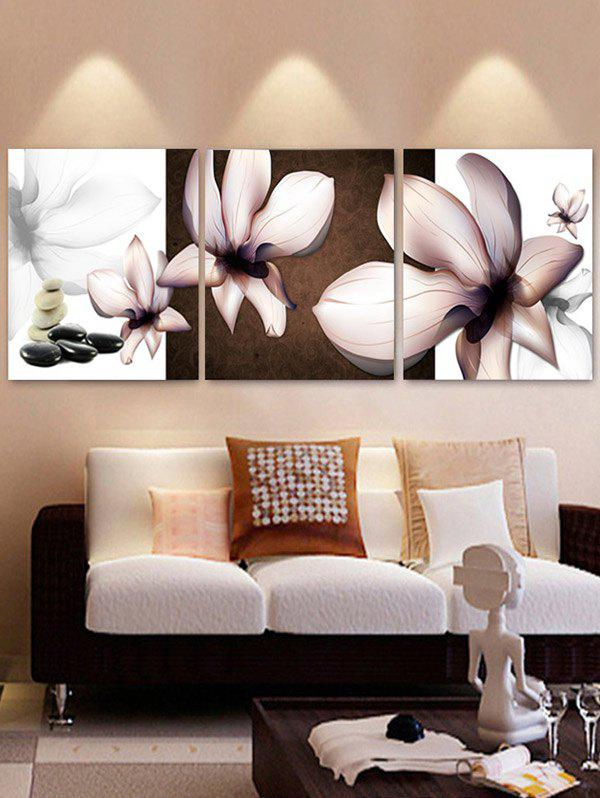 Outfits Petal Print Home Decor Wall Art Painting
