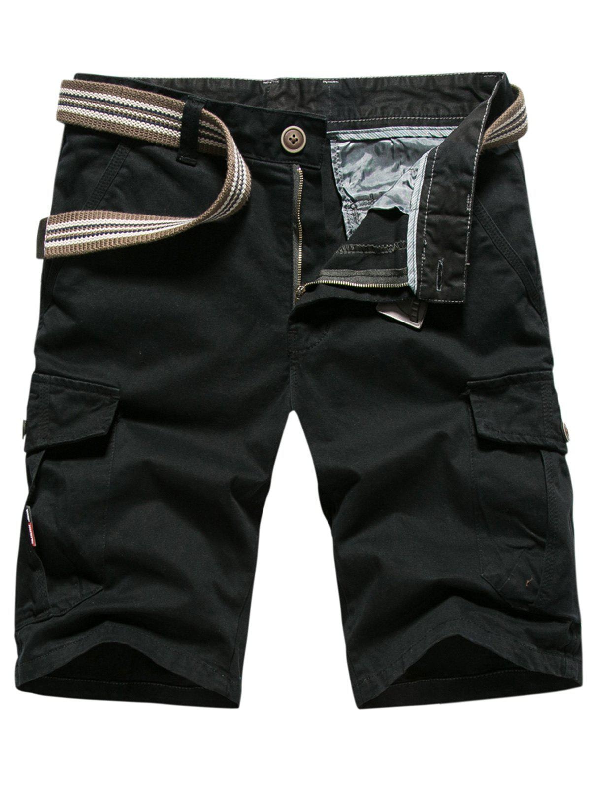 Chic Loose-fitting Casual Cargo Shorts