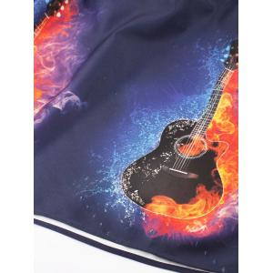 Plus Size Violin in Fire and Ice Dress -