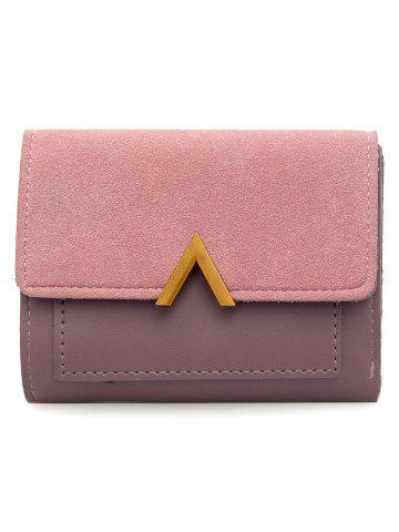 Affordable Faux Leather Fold Short Wallet