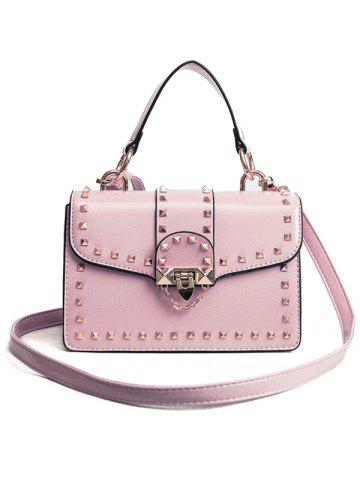 Outfits Faux Leather Studs Handbag