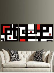 A Maze Map Printed Unframed Canvas Wall Art Paintings -