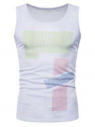 Polka Dot Relaxed Fit Tank Top -