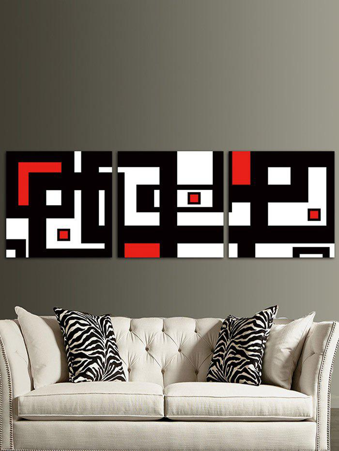 Affordable A Maze Map Printed Unframed Canvas Wall Art Paintings