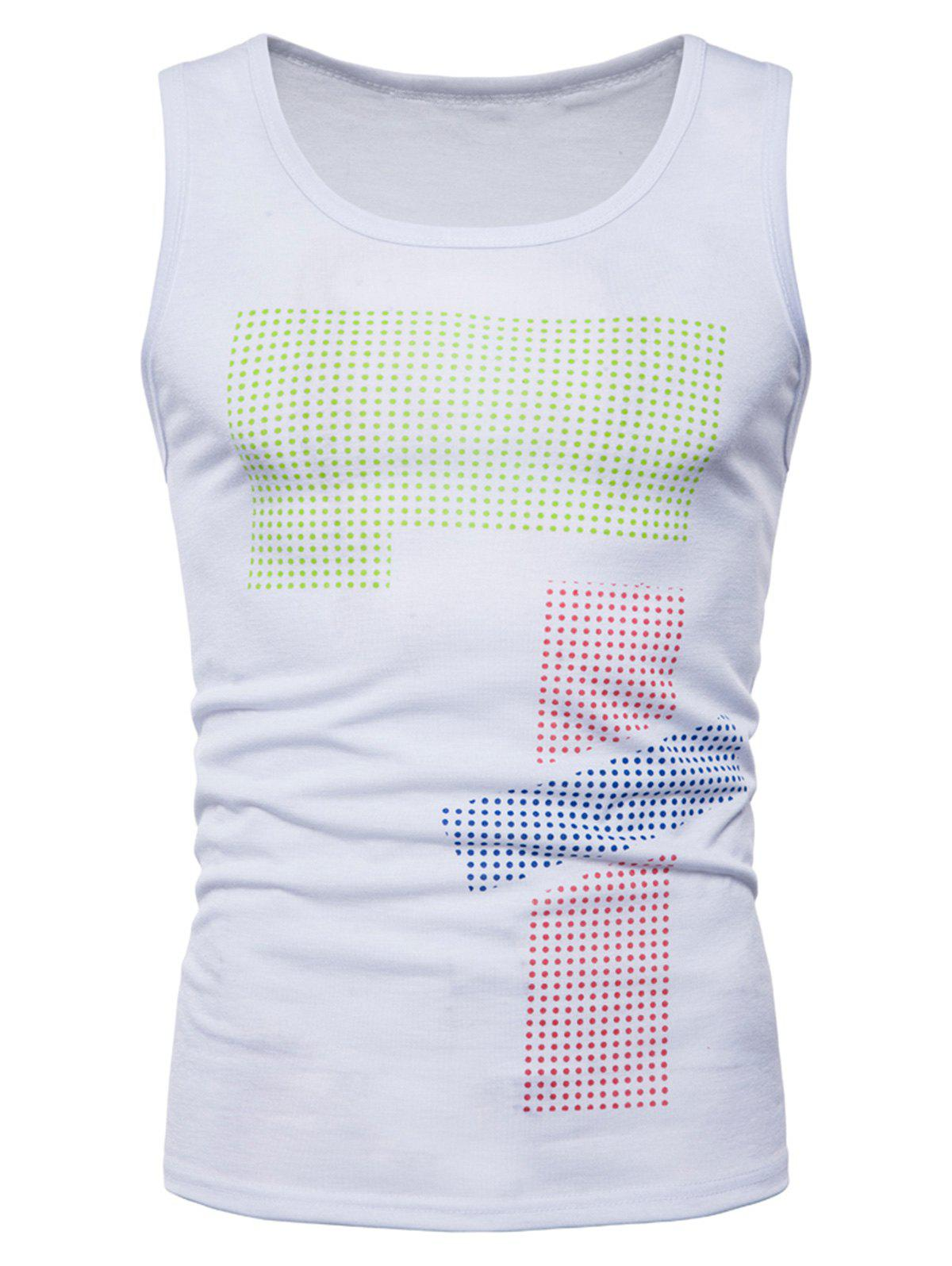Store Polka Dot Relaxed Fit Tank Top