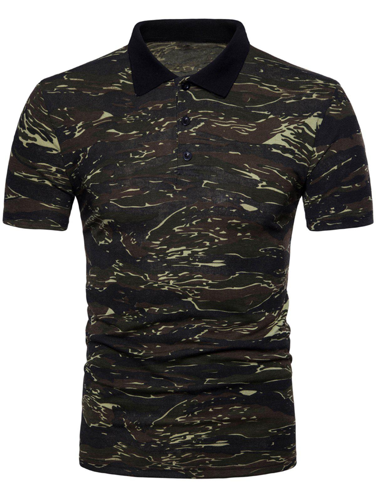 Outfit Camo Print T-shirt