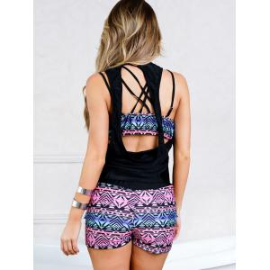 Three Piece Tank Tankini Set -