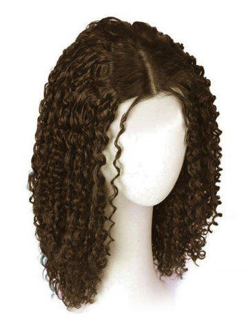 Medium Center Part Curly Synthetic Wig