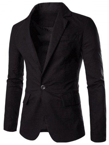 Latest Color Block Panel Collar Blazer