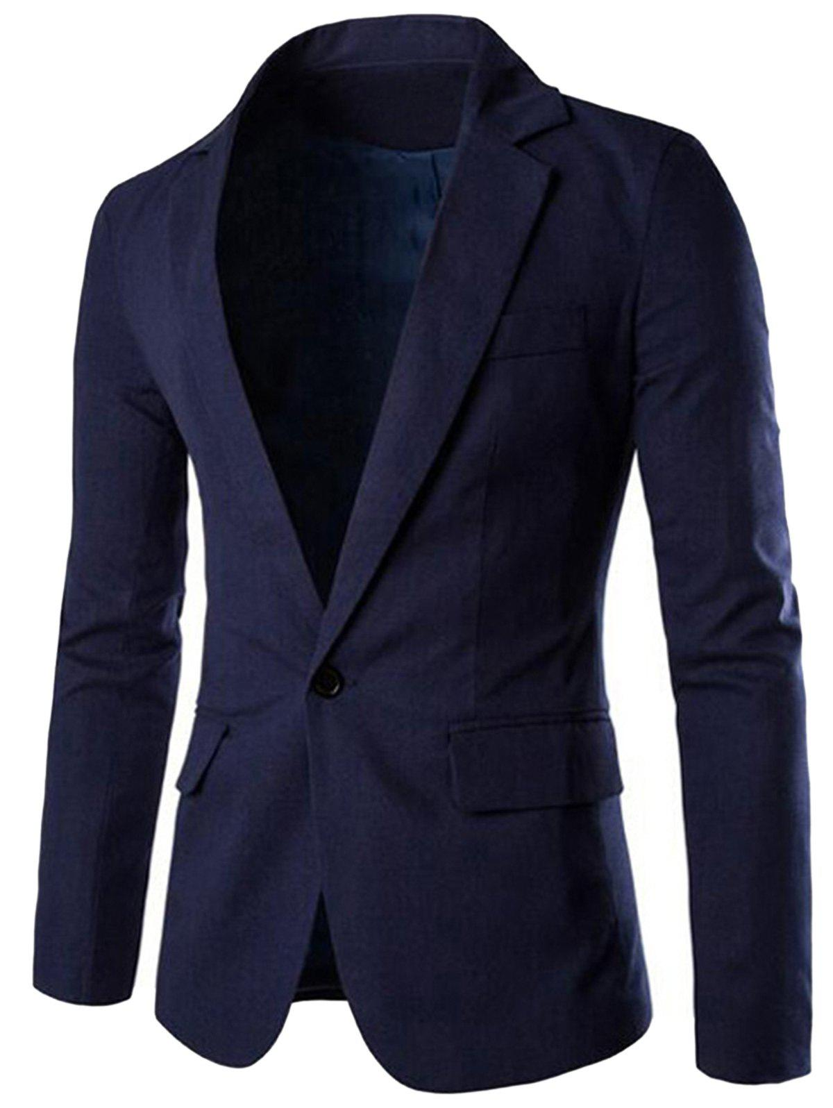 Shops Lapel Thin Casual Blazer
