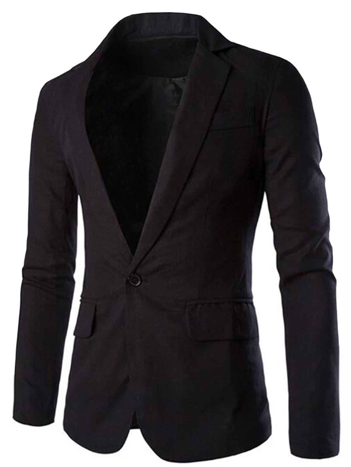 Discount Lapel Thin Casual Blazer