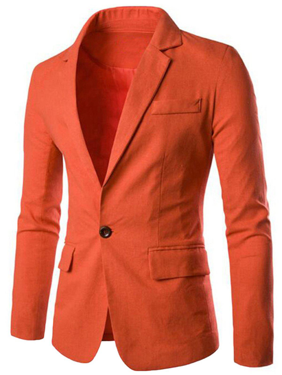 Buy Color Block Panel Collar Blazer