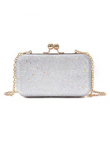 Shops Paillette Clutch Chain Crossbody Evening Bag