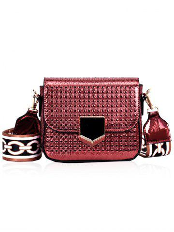 Buy Printed Strap Embossed Crossbody Bag