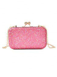 Paillette Clutch Chain Crossbody Evening Bag -