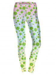 Four Leaf  Leggings -
