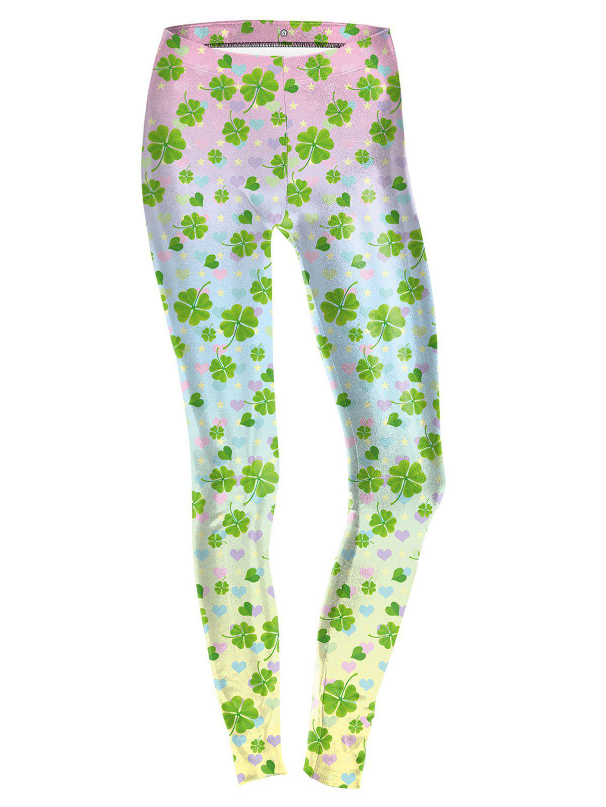 Online Four Leaf  Leggings