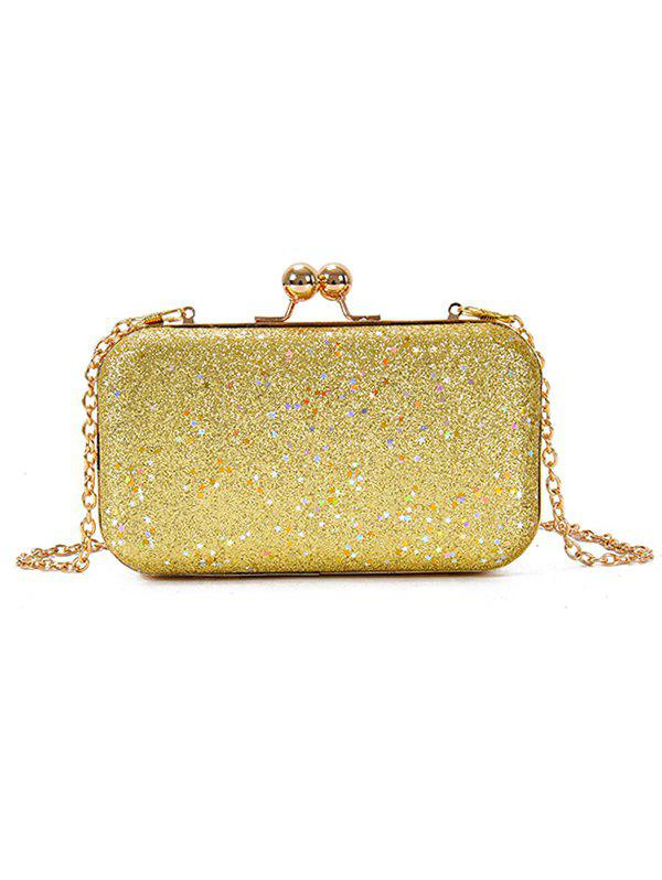 Unique Paillette Clutch Chain Crossbody Evening Bag