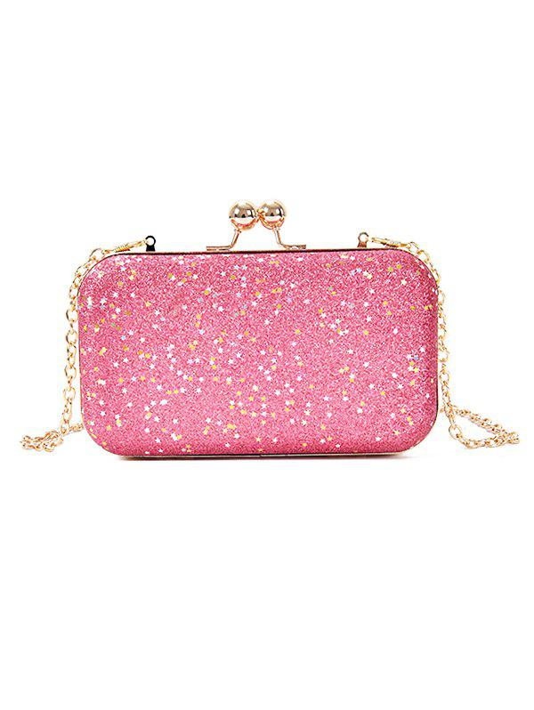 Chic Paillette Clutch Chain Crossbody Evening Bag