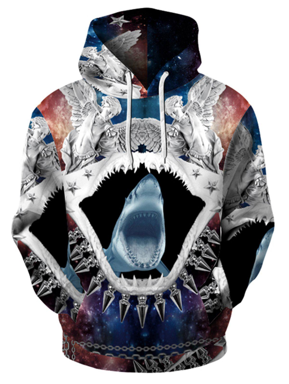 Affordable 3D Printed Trippy Pullover Hoodie