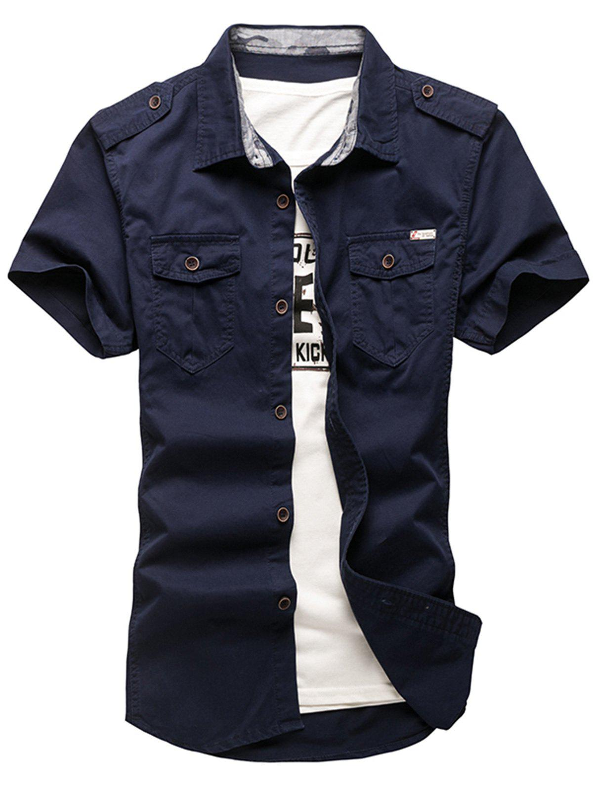 Buy Pocket Design Cargo Shirt