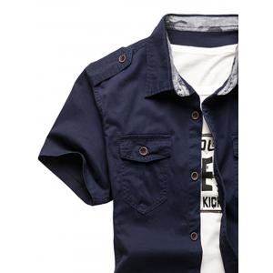 Pocket Design Cargo Shirt -