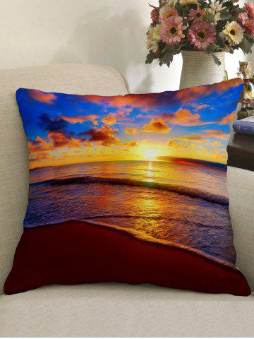 Sale Sunset Clouds Sea Print Throw Pillow Case