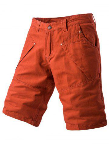Latest Zipper Fly Casual Shorts