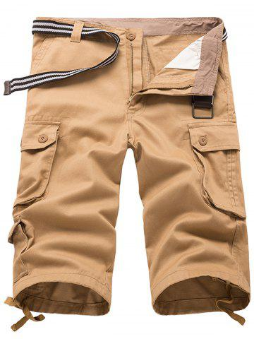 Trendy Panel Design Bermuda Shorts
