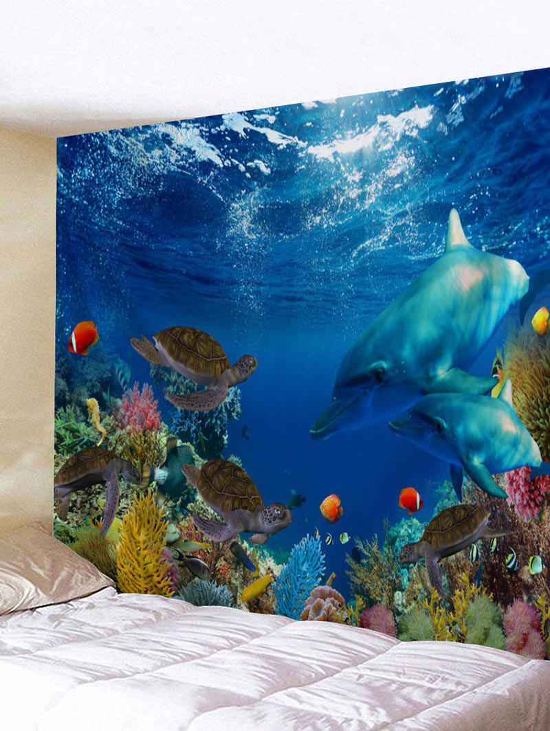 Sale Submarine World Printed Wall Art Tapestry