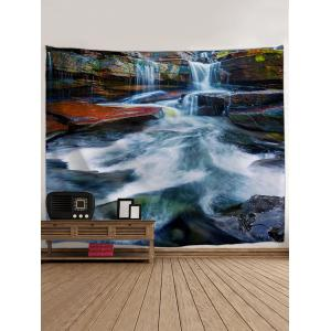 Stone River Rapid Print Tapestry -