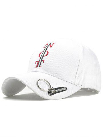 Outfit Statement NOT Pattern Adjustable Snapback Hat