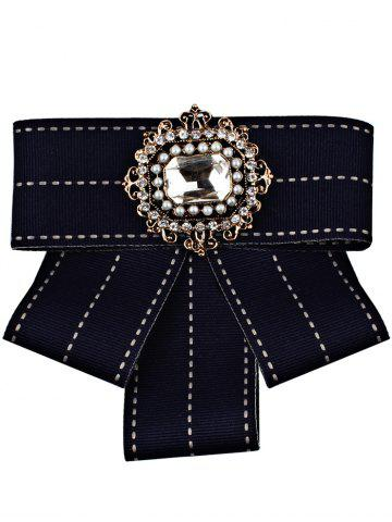 Online Multilayer Bowknot Rhinestone Inlaid Brooch