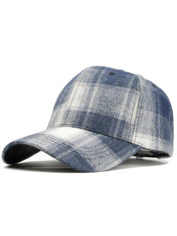 Chapeau snapback à carreaux unique