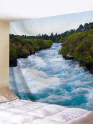 Rushing River Print Tapestry -