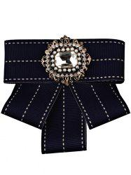 Multilayer Bowknot Rhinestone Inlaid Brooch -