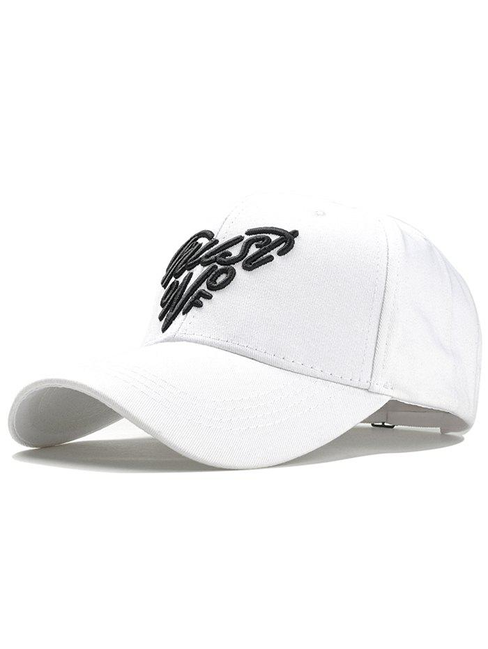 Latest Heart Shaped Letter Embroidery Graphic Hat