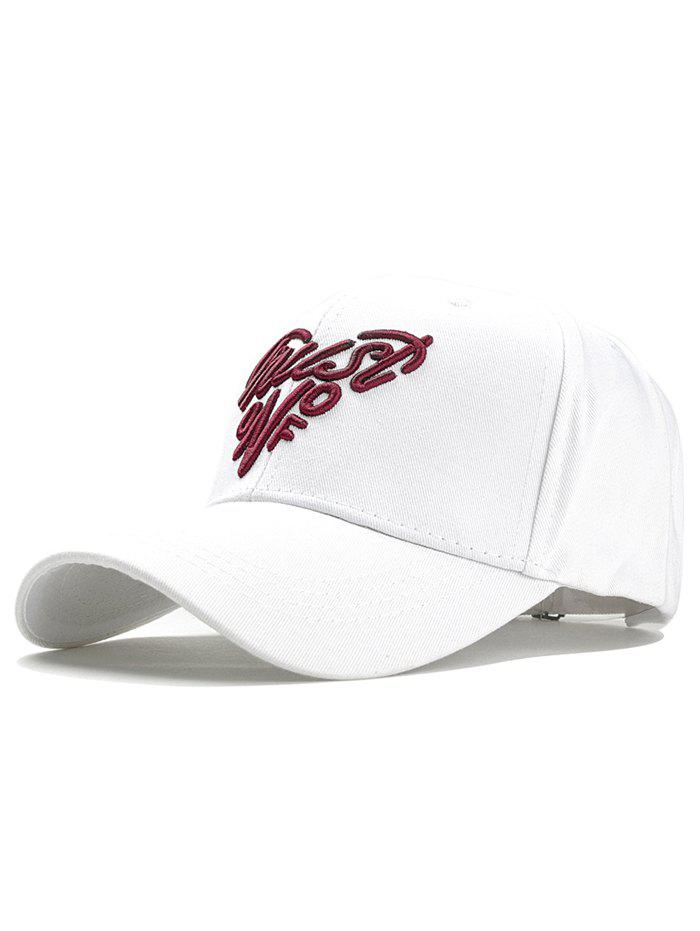 Hot Heart Shaped Letter Embroidery Graphic Hat