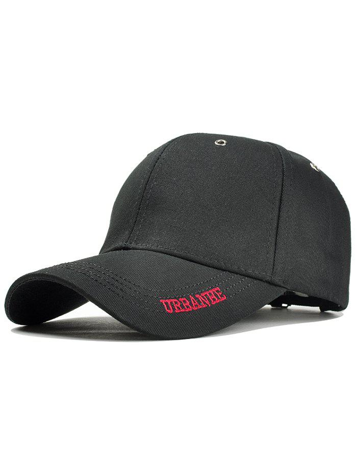 New Simple Letter Embroidery Adjustable Sport Hat