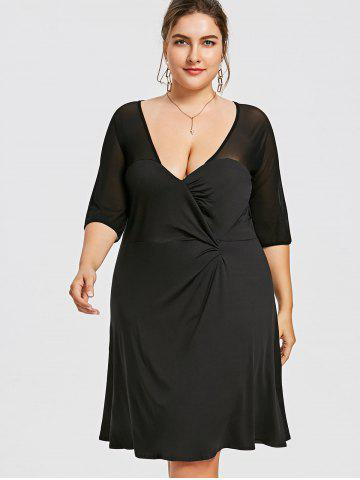 6fdb94a02d574 Modest Plus Size Dress - Long Sleeve, Maxi And Black Cheap With Free ...