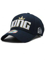Casquette de baseball ajustable Crown Embroidery -