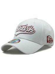 Unique Letter Embroidery Sunscreen Hat -