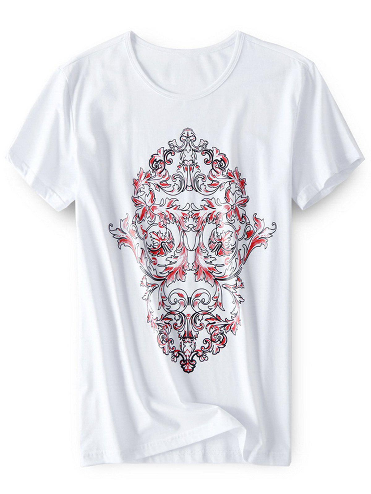 Outfit Cotton Blend Skull T-shirt