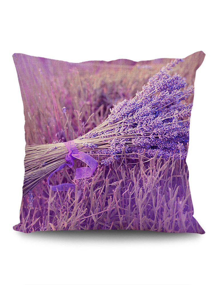 Affordable A Bunch of Lavender Print Square Pillow Case