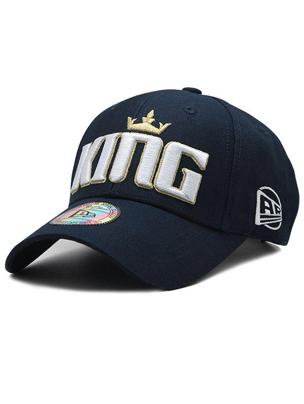 Latest Crown Embroidery Adjustable Baseball Cap
