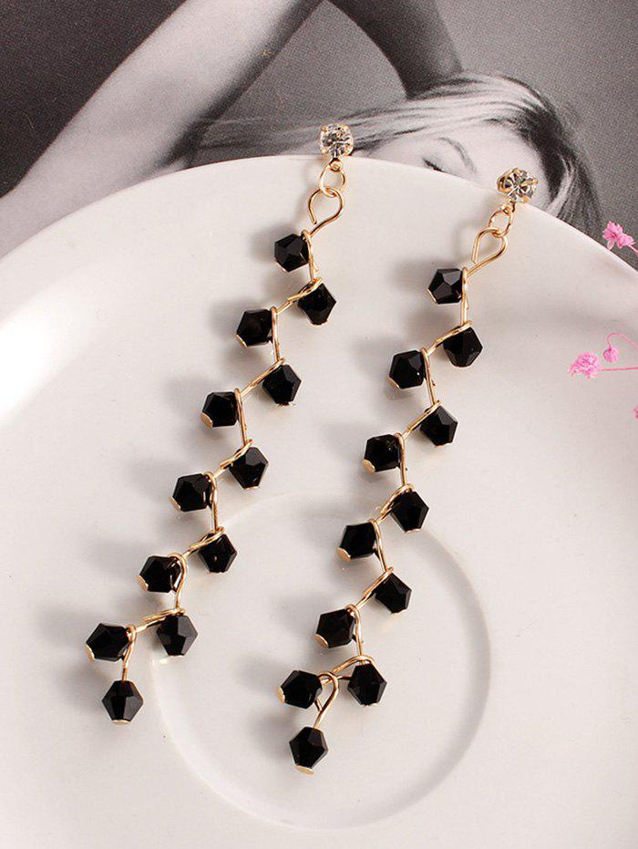 Trendy Artificial Crystal Branch Earrings