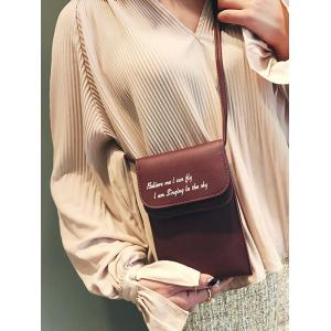 Mini PU Leather Shoulder Bag -