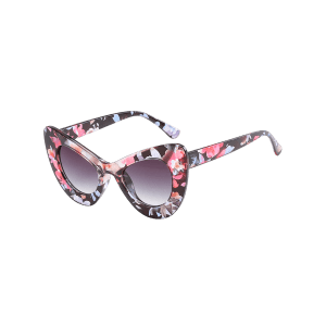 Anti Fatigue Full Frame Pattern Sunglasses -